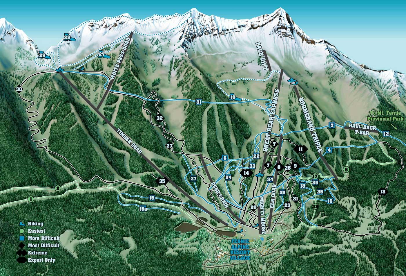Bike And Hike Fernie Fernie Alpine Resort